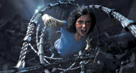 Angel of Vengeance: Robert Rodriguez and James Cameron unite to bring 'Alita' manga to the big screen